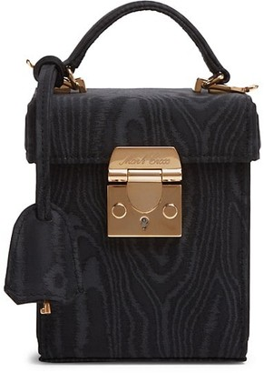 Mark Cross Grace Leather Crossbody Cube Bag