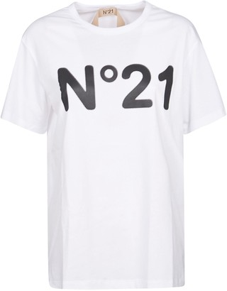 N°21 N.21 Logo Printed T-shirt
