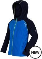 Regatta Boys Upflow Hooded Fleece Jacket
