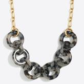 J.Crew Factory Tortoise link necklace