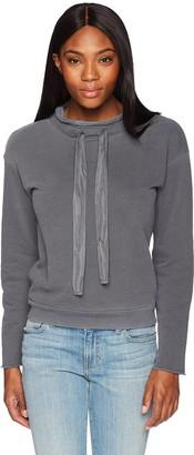 Stateside Women's Terry Drawstring Sweatshirt
