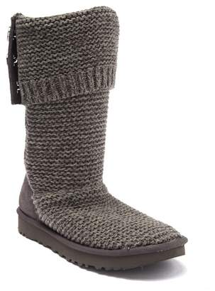 UGG Purl Cardy Knit Boot (Narrow Calf)
