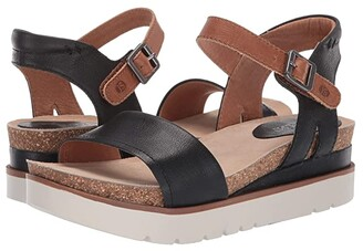 Josef Seibel Clea 01 (Black/Kombi) Women's Sandals