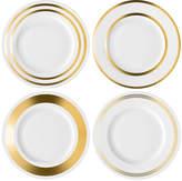 LSA International Deco Assorted Gold Starter/Dessert Plate
