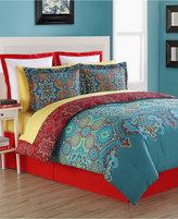Fiesta Terra Reversible Queen Comforter Set