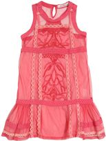 Miss Blumarine Embellished Tulle & Lace Dress