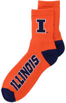 For Bare Feet Men's Illinois Fighting Illini Ankle Tc 501 Socks