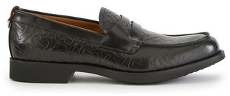 Burberry Emile leather moccasins