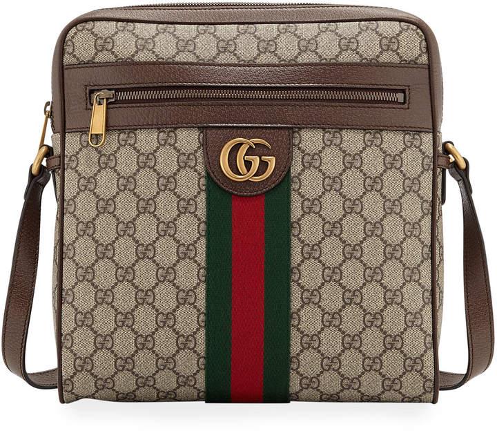 6fcd682579af Men's GG Supreme Medium Messenger Bag