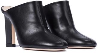 Wandler Casta leather mules