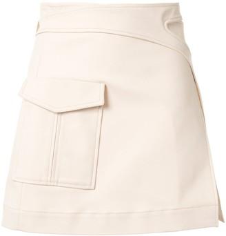 Dion Lee Pocket Interlock Mini skirt