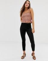 New Look shaper jegging in black