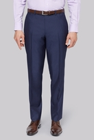 Moss Esq. Regular Fit Navy Stipe Pants