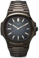 MAD Paris Black Patek Philippe 5711 DLC watch