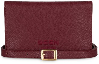 Been London Upper Street Waist Bag In Red Wine