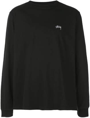 Stussy logo detail sweatshirt