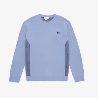 Lacoste Men's Contrast Effects Knit Sweater