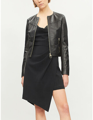 Pinko Irroratrice leather jacket