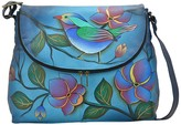 Anuschka Hand-Painted Leather Large Flap Bag