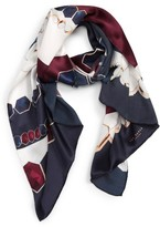 Ted Baker Women's Rowing Stripe Silk Scarf
