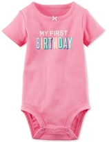 Carter's My First Birthday Bodysuit, Baby Girls (0-24 months)