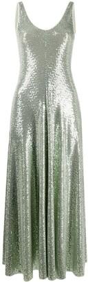Forte Forte Glitter-Embellished Flared Dress