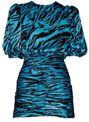 Ronny Kobo Monica Puff-Sleeve Dress