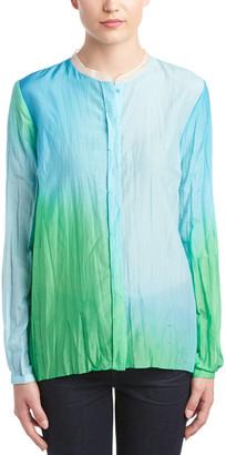 Elie Tahari Silk-Blend Blouse