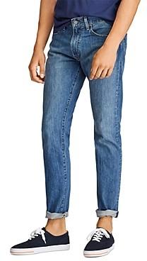 Polo Ralph Lauren Varick Slim Straight Jeans in Medium Blue