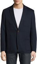 English Laundry Two-Button Textured Blazer, Navy