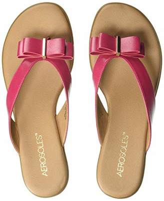 Aerosoles Women's Mirachle Sandal - Casual Thong Sandal with Memory Foam Footbed (10M - )