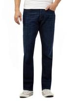 Voi Dark Blue Rinse Wash Bootcut Jeans