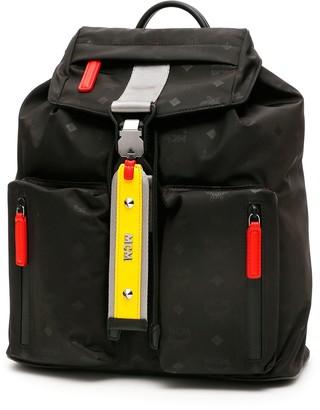 MCM Ziano Monogram Backpack