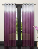 Home Studio Set of Two Ombre Sheer Drape Panels