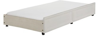 Evolur Waverly Trundle Drawer in Weathered White