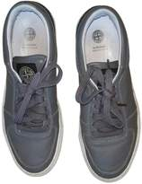 Stone Island Leather low trainers