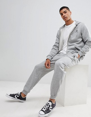 Converse Joggers In Grey 10008815-A03
