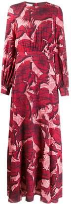 Stella Jean foliage print dress
