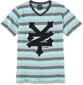 Zoo York Short-Sleeve Striped Knit Tee - Boys 8-20