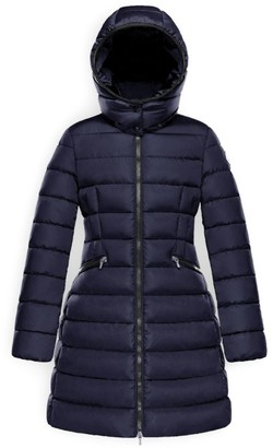 Moncler Kids Charpal Long Coat (8-10 Years)