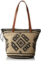 Billabong Junior's East Of Dover Straw Tote