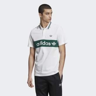 adidas Samstag Colorblock Polo Shirt