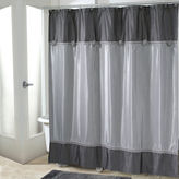 Avanti Braided Medallion Shower Curtain