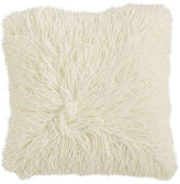 Pier 1 Imports Shaggy Ivory Pillow