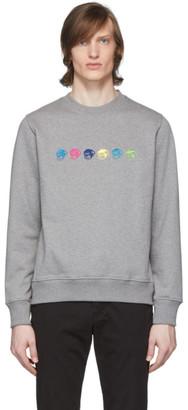 Paul Smith Grey Logo Monkey Sweatshirt
