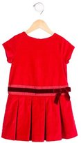 Jacadi Girls' Pleated Corduroy Dress