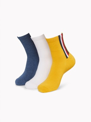 Tommy Hilfiger Quarter Top Sock 3PK