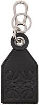 Loewe Black Tag Charm Keychain