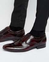 Base London Cane Patent Leather Brogues