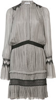 Vionnet pleated short dress - women - Silk - 40